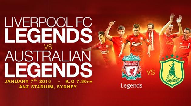 Steven Gerrard Akan Memimpin LIVERPOOL FC LEGENDS Bermain di Sydney