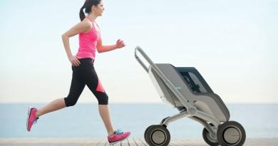 Smartbe – Stroller Pintar Futuristik