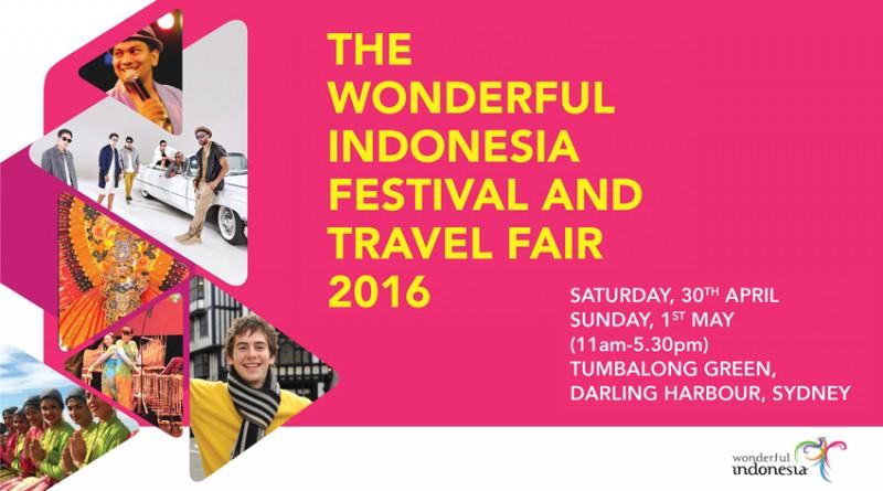 The Wonderful Indonesia Festival & Travel Fair 2016