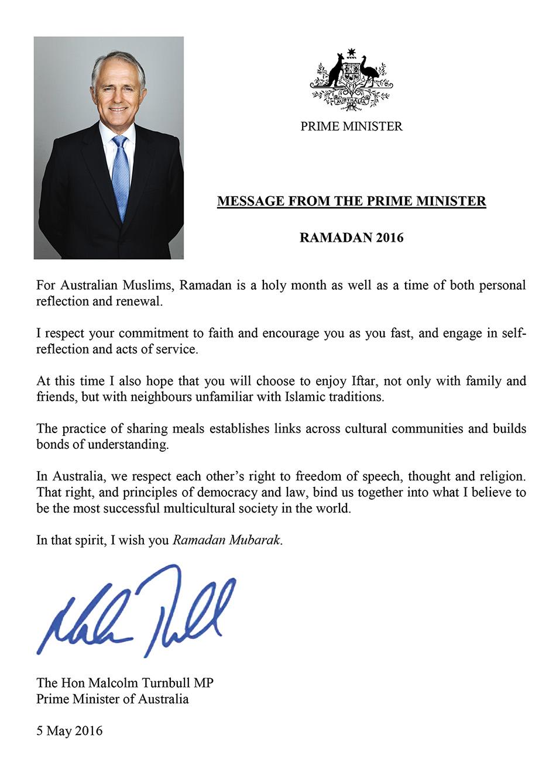 PM Ramadan