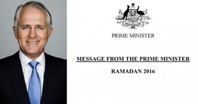 Message From The Prime Minister