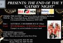 GATSBY NIGHT – 3 December 2016