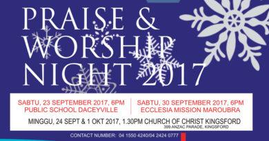 Praise & Worship Night 2017