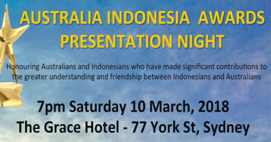 Australia Indonesia Awards Presentation Night