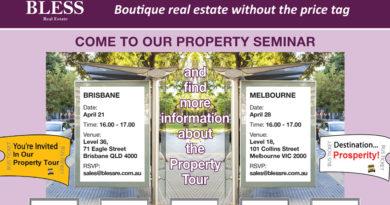 Property Seminar – Brisbane & Melbourne