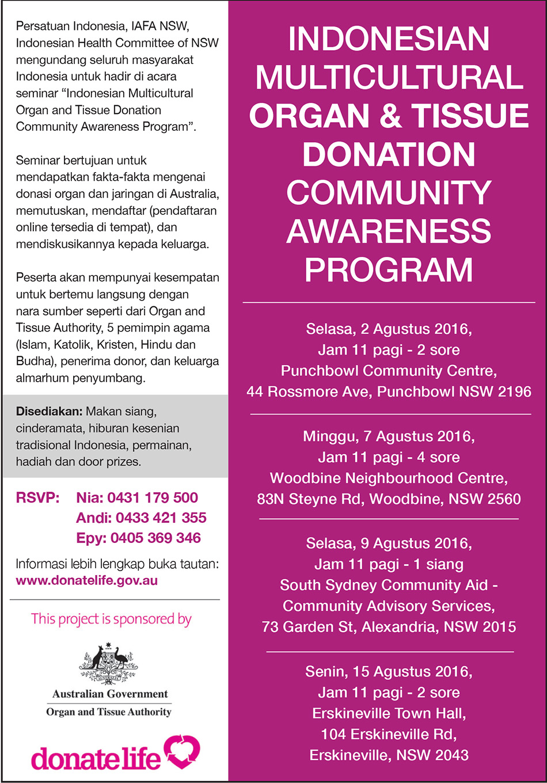 Organ seminar poster